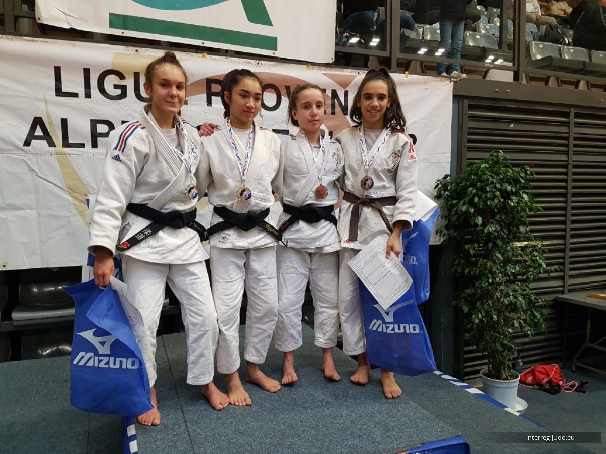 Interreg Judo Team - Pictures Tournoi de France Cannes U18 - 19.01.2019