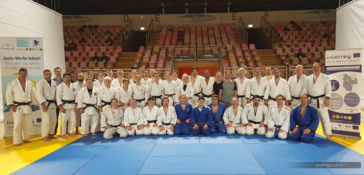 Interreg Judo Symposium - LTAD - 25-27.01.2019 Luxembourg