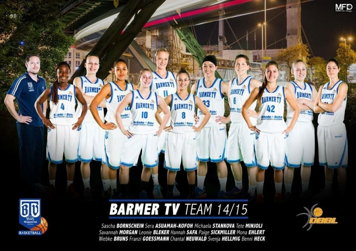 Musel Pikes vs. Barmer TV Wuppertal