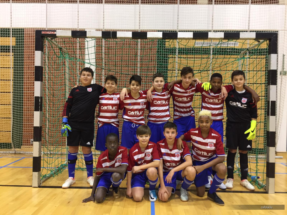 CS FOLA goes finale Futsal avec Minimes et scolaires: bravo!