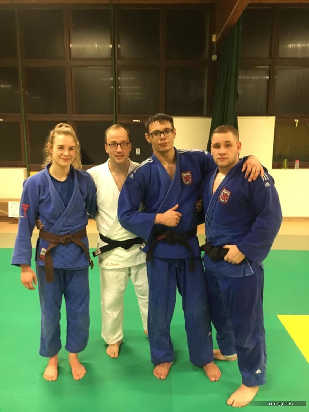 Interreg Judo Training Strasbourg - 29.01.2019