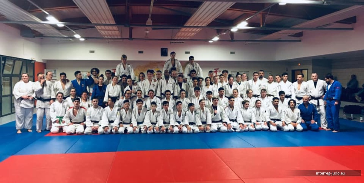 Interreg Judo Training Saint Julien-les-Metz - 07.02.2019