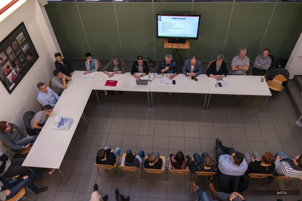 Generalversammlung vun der LP07 an der Amicale des Jeunes