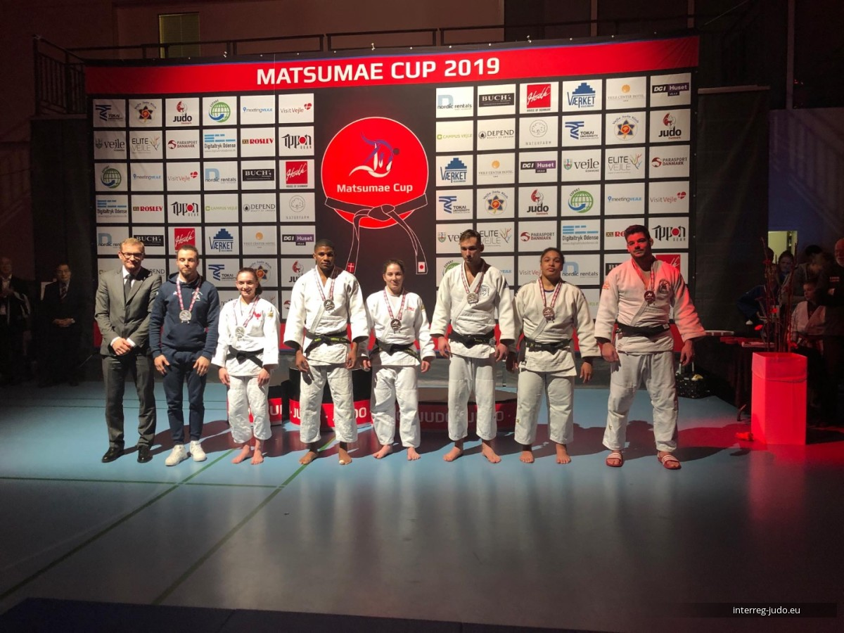 Interreg Judo Team - Matsumae Cup & Training Camp Vejle (DEN)