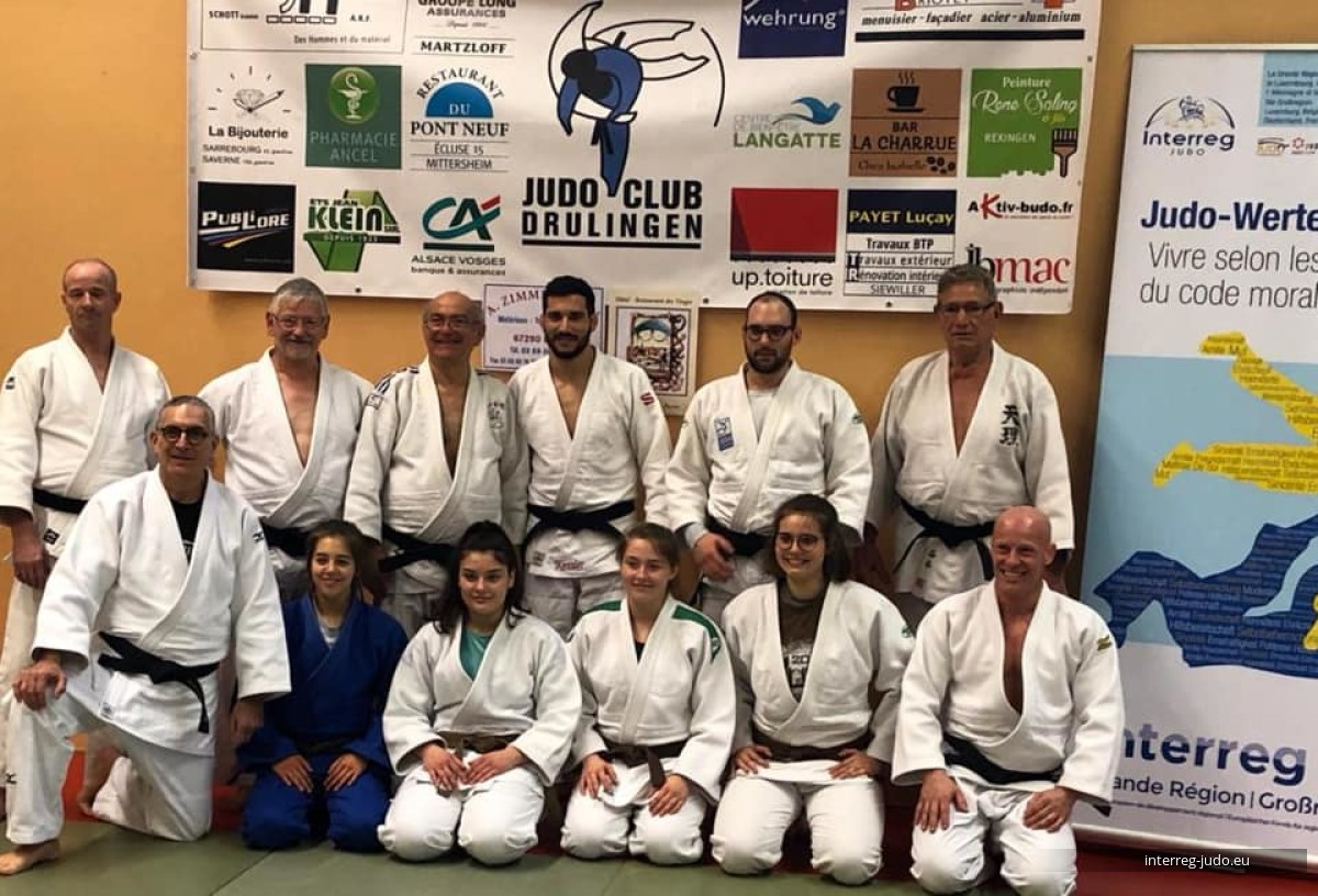 Interreg Judo Team - Pictures Drulingen 02.03.2019
