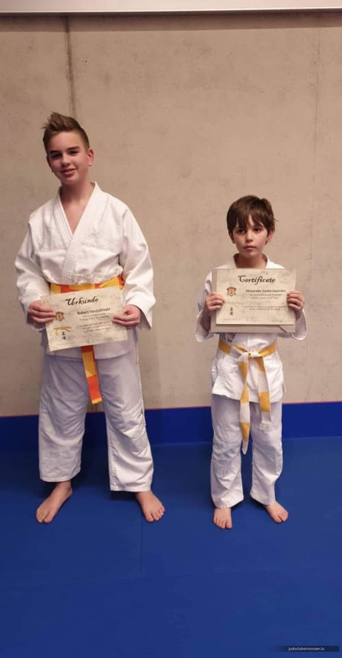 Belt-exam | Passage de grades 04-08.03.2019