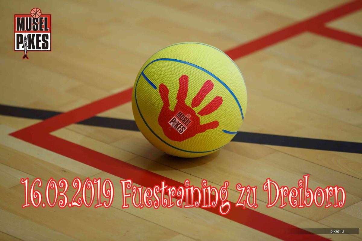 16/03/2019 Fuestraining zu Dreiborn