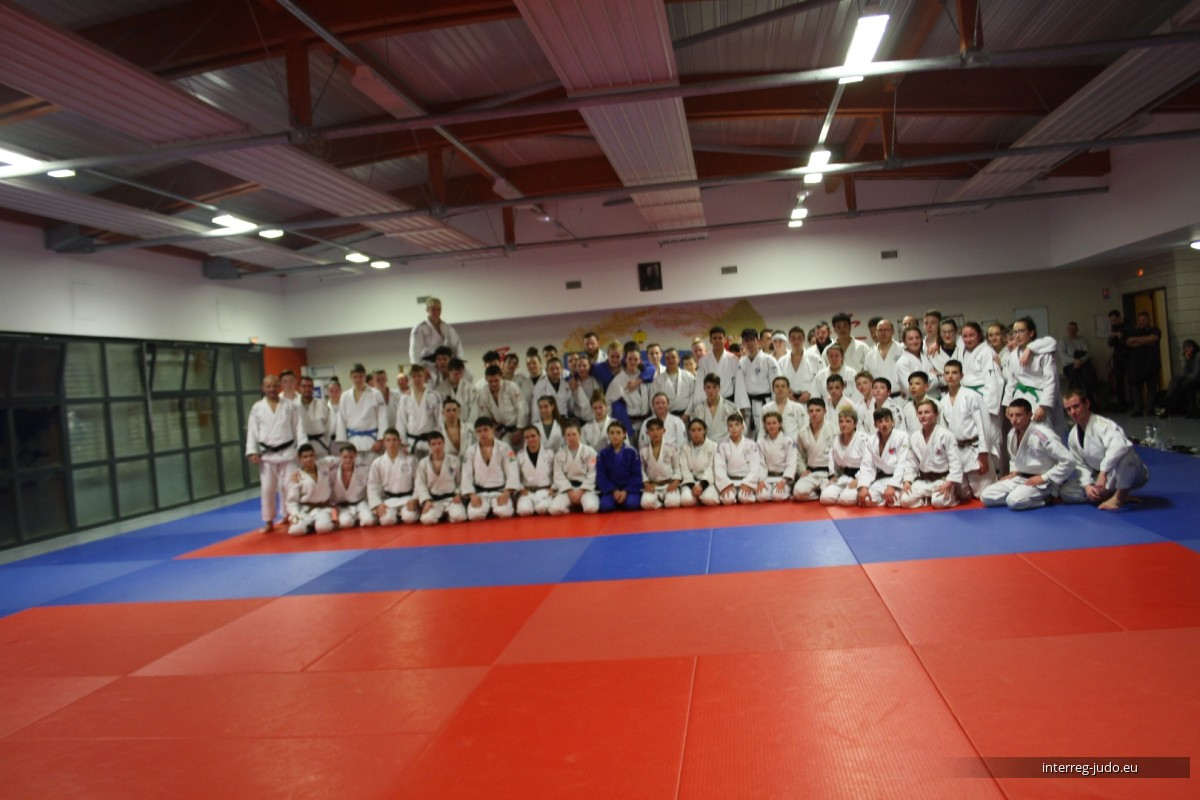 Interreg Judo Training - Saint Julien-lès-Metz 14.03.2019