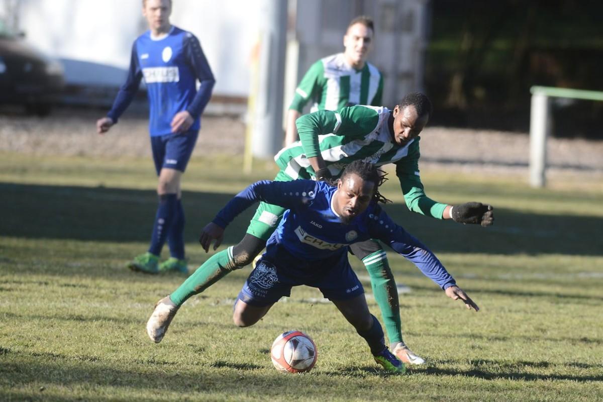 24/02/2019 Superbes photos du match FC Vinesca Ehnen - FC Résidence Walferdange 1908