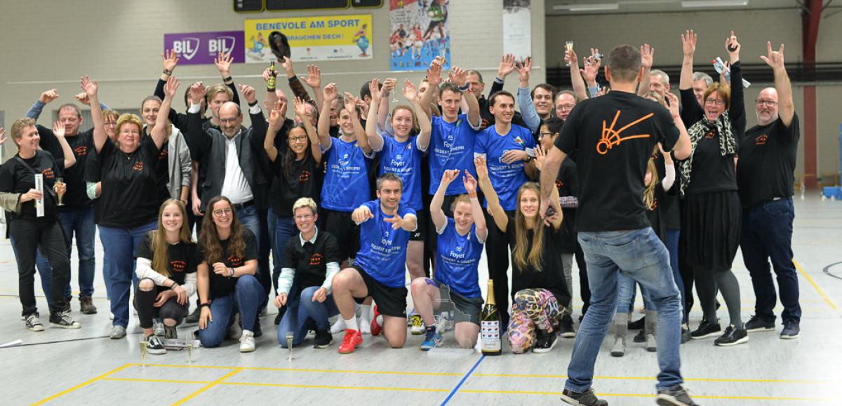 2019 Champion de Luxembourg, Fête