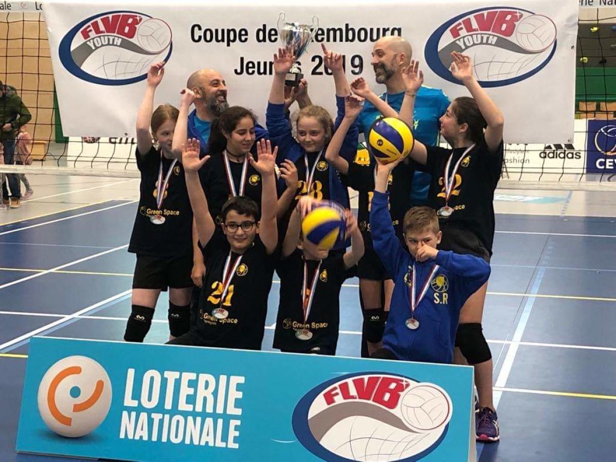 Nos Minimes gagnent la coupe de Luxembourg