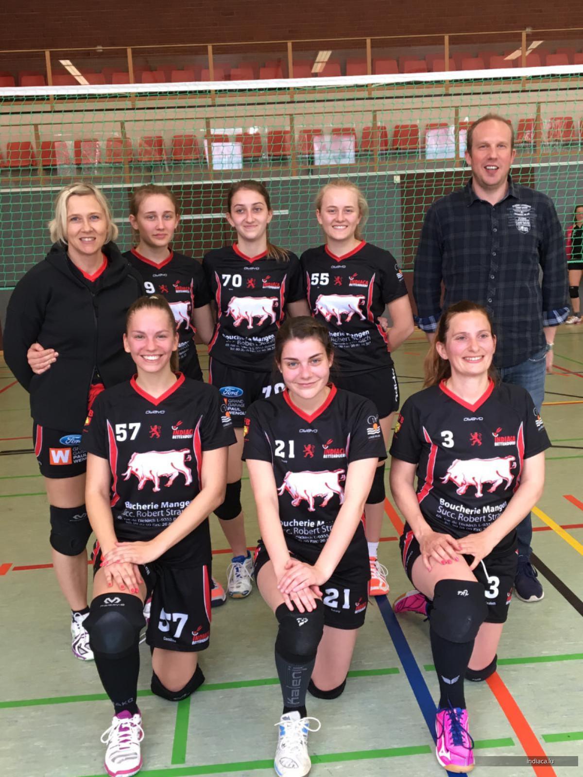 Damen Ekuipen Saison 2018/2019