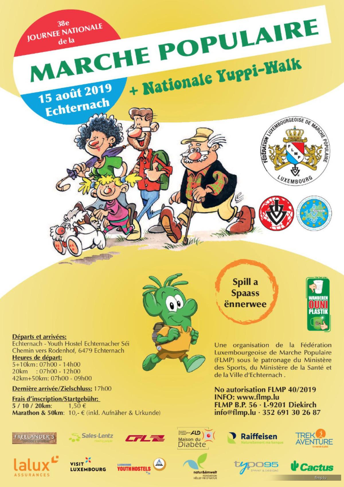 Journée Nationale de la Marche Populaire
