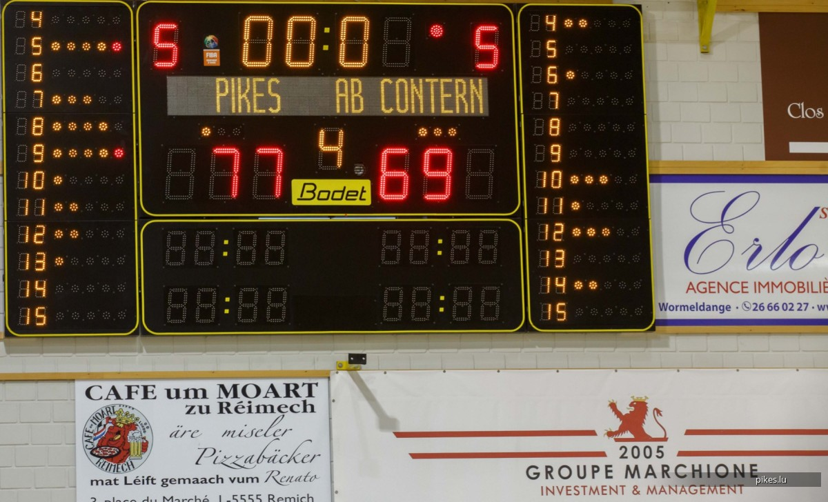 13.04.2019 Ladies: Pikes-AB Contern