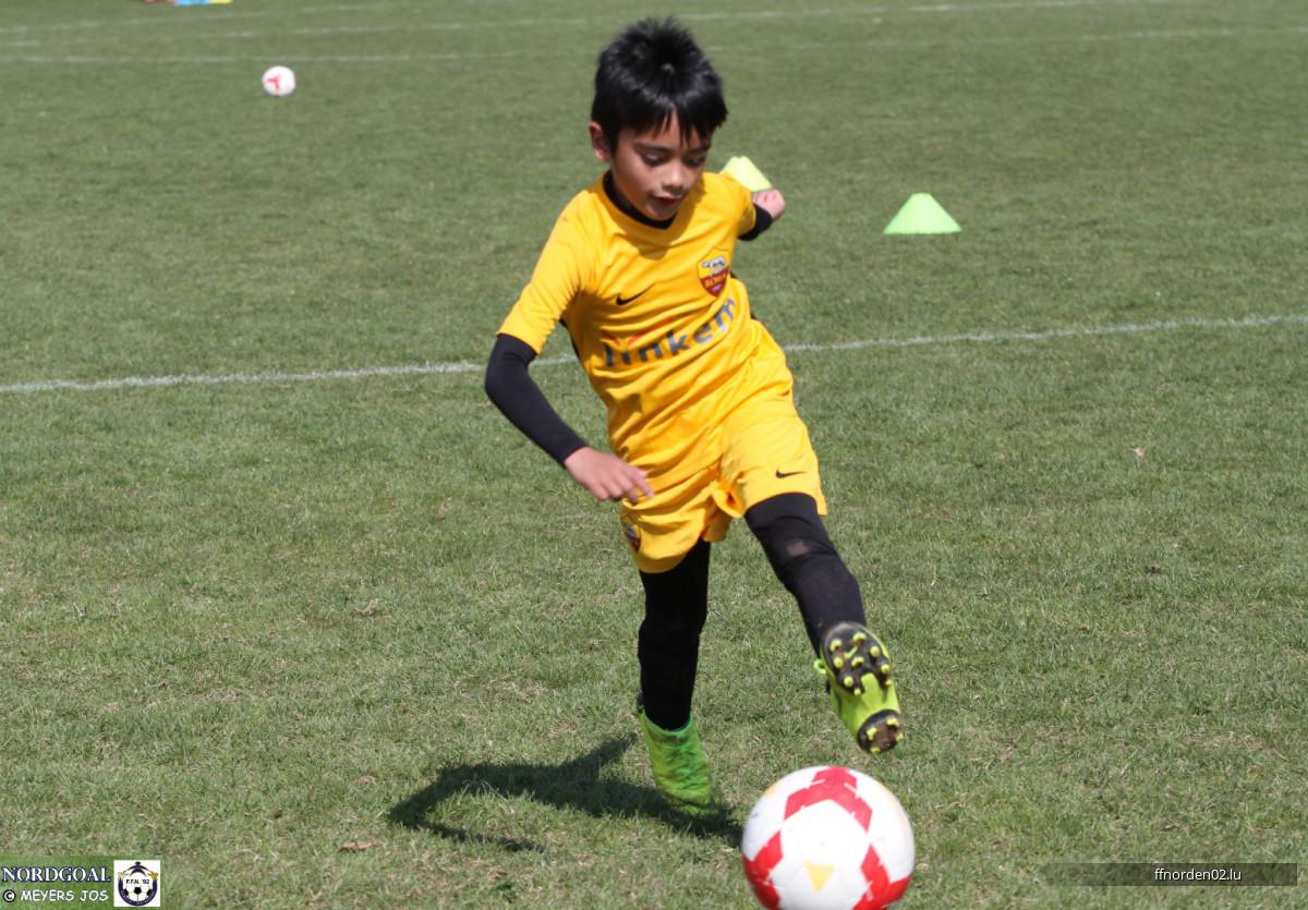 AS ROMA Fussballcamp Training vam 16.04.2018