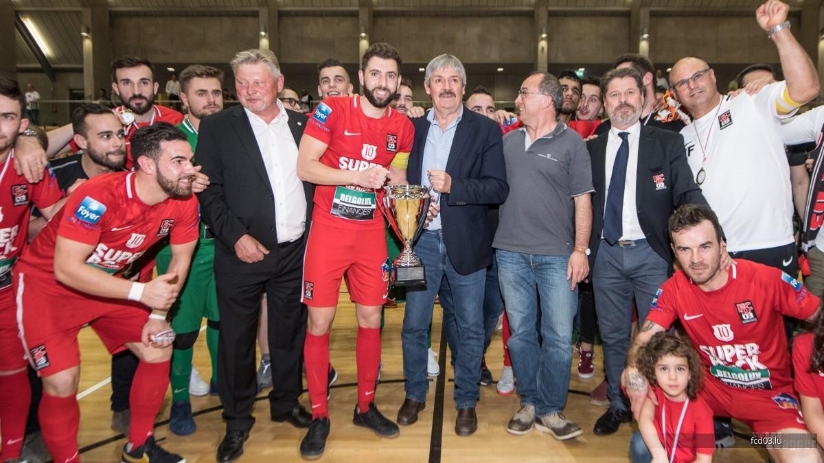 FATSAL : den FC Déifferdeng 03 wënnt Finall vun der Coupe  9 - 2 géint US Esch