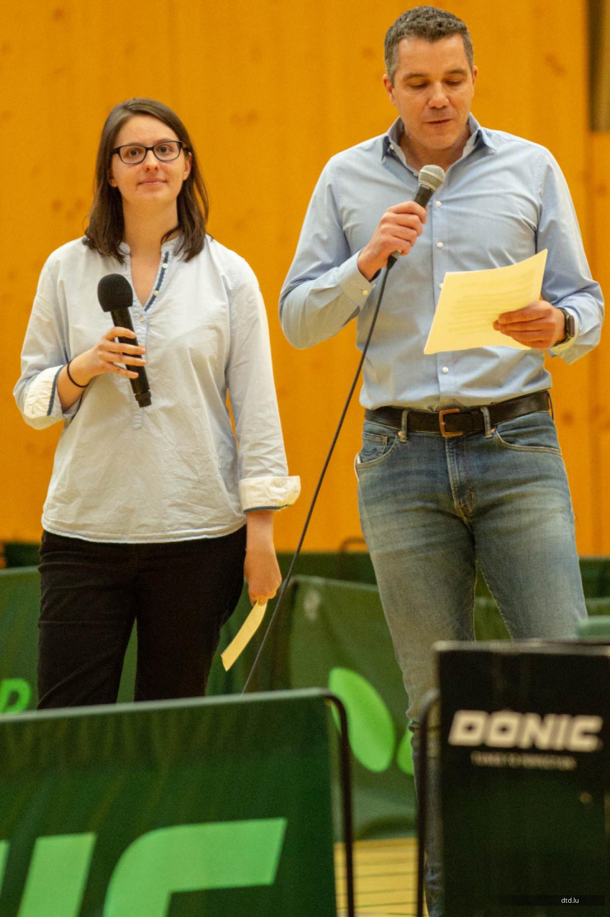 """""""Dësch-Tennis Diddeleng- Dësch-Tennis Houwald"""""""