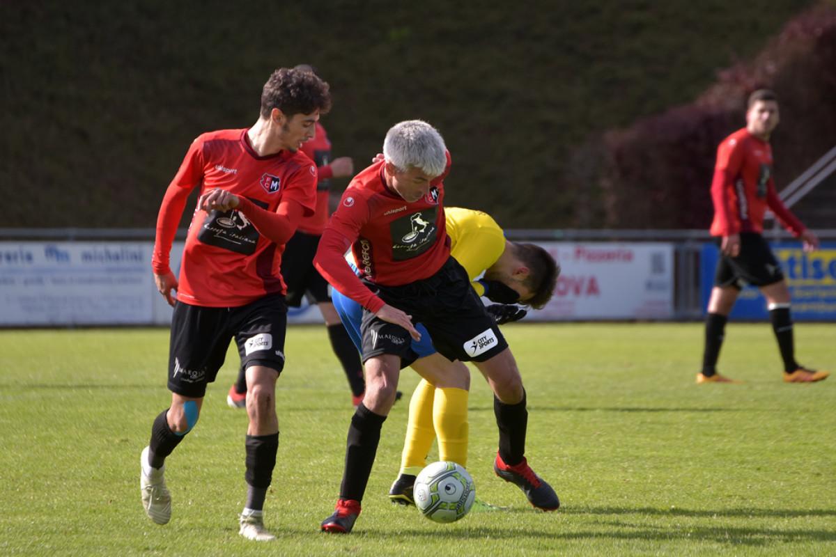 FC Mondercange - FC Sporting Bertrange 3:1