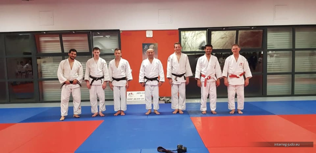 Pictures Interreg Judo Training - 04.04.2019 Saint Julien-lès-Metz