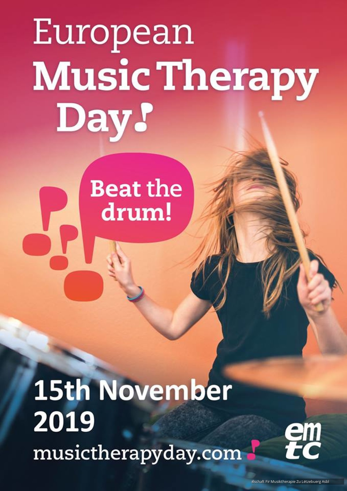 European Music Therapy Day 2019 @ Luxembourg