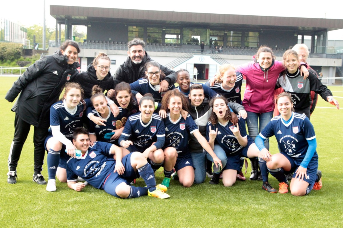 SC Bettembourg II - CS FOLA dames 0-2; bravo et félicitations à toute la section dames