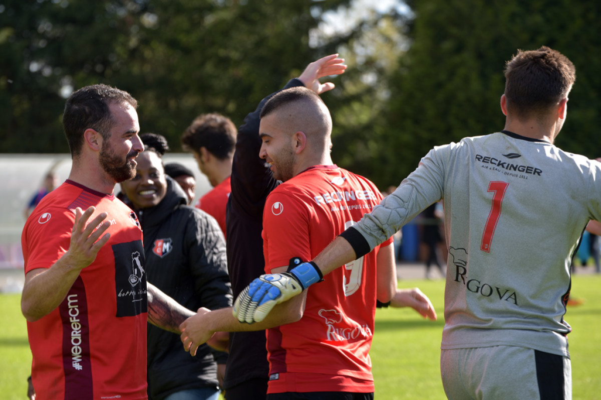 FC Mondercange - CS Sanem 3:2