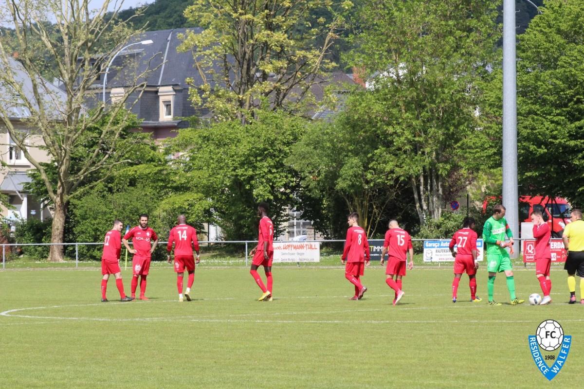 19/05/2019 Match FC Résidence Walferdange 1908 - FC Blo-Wäiss Izeg