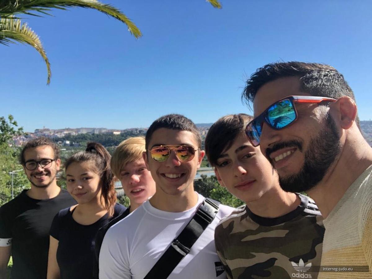 Pictures Interreg Judo Team - U18 European Judo Cup Coimbra (POR)