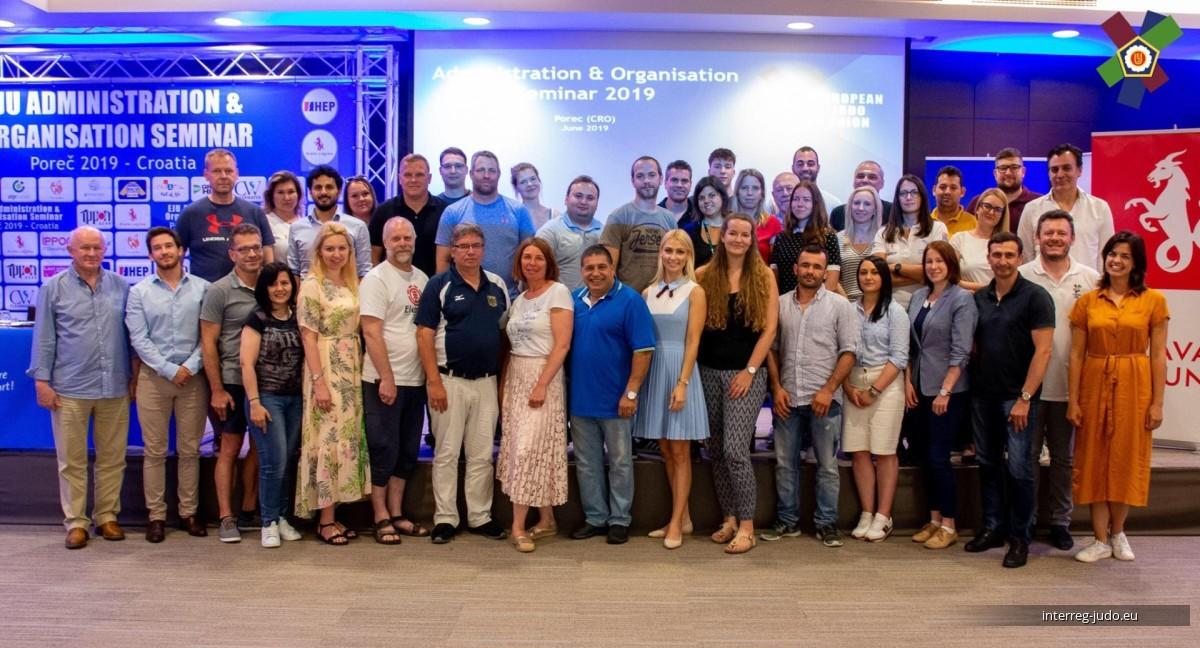 Pictures EJU Administration & Organisation Seminar Porec (CRO) - 10-12.06.2019
