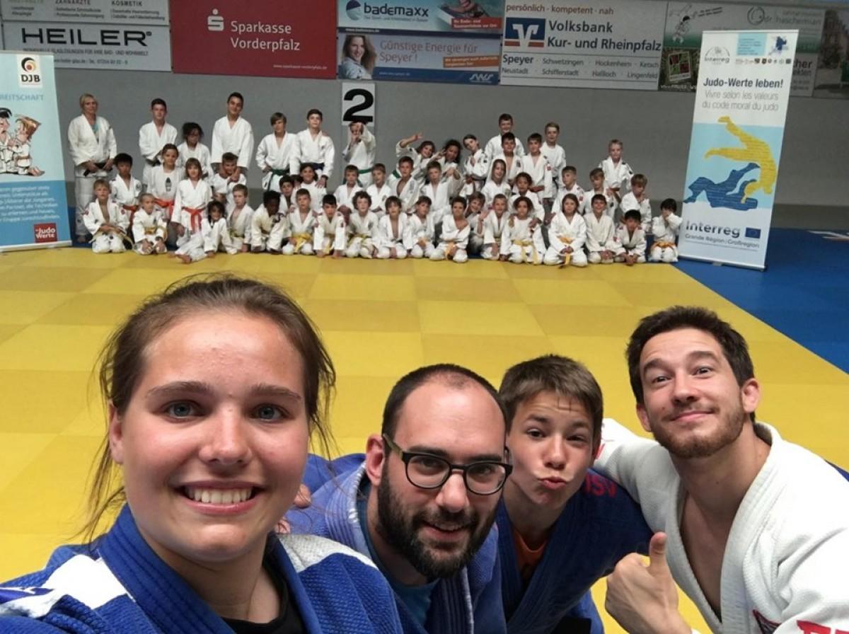 Strassener Judoka bereiten sich in Speyer auf die Mannschaftsmeisterschaft vor