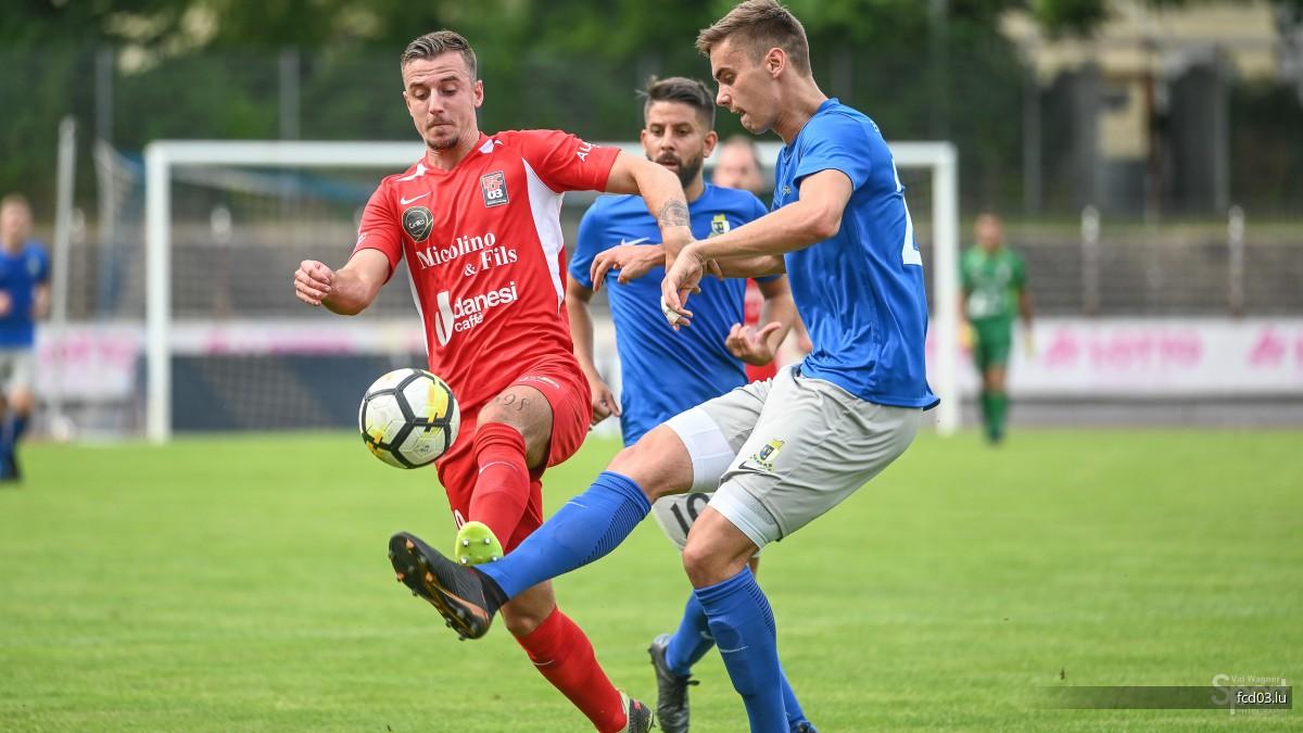 SV Eintracht Trier 05  -  FC Déifferdéng 03   6 - 1