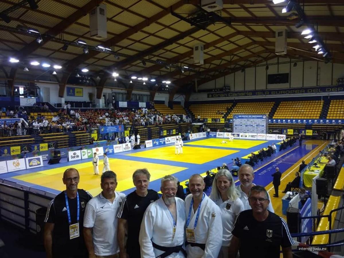 Pictures Interreg Judo Team - Kata European Judo Championships 2019