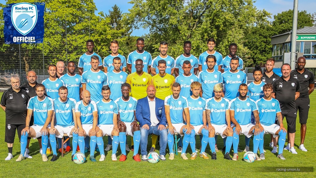 Photos Officielles - Racing Union Luxembourg