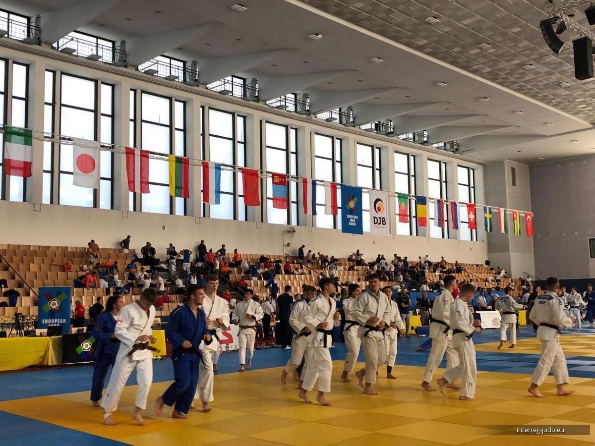 Pictures Interreg Judo Team - U21 European Judo Cup Berlin 2019