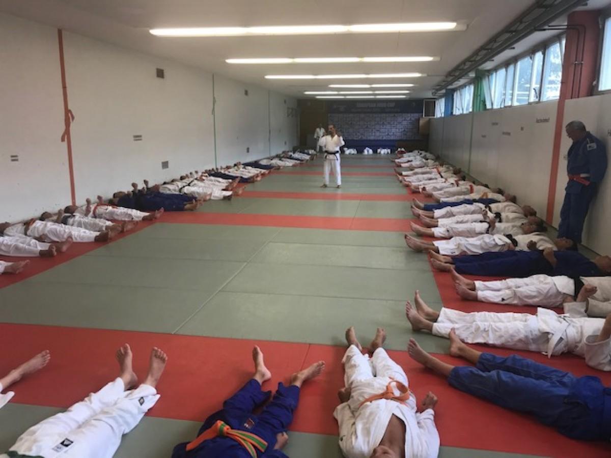 Impressionen vom Interreg-Lehrgang der U15/U18 in Saarbrücken