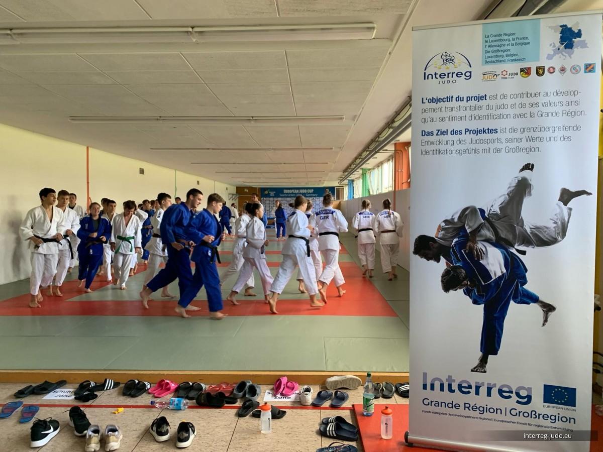 Interreg Judo Training Saarbrücken - 09-11.08.2019 Wochenendlehrgang