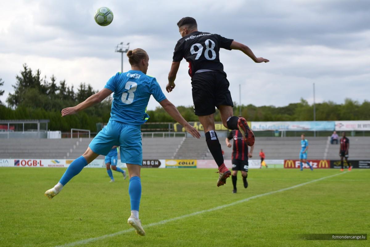 FC Mondercange - F91 Dudelange 2:2