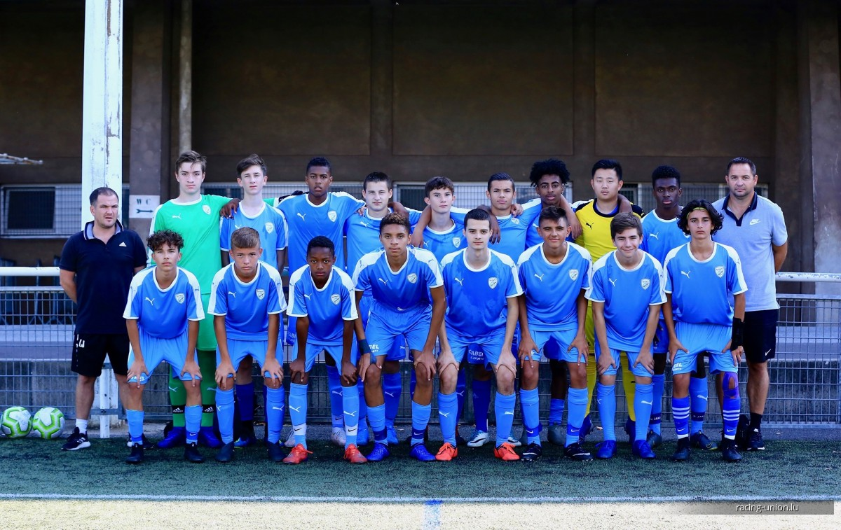 MATCH AMICAL: CSO AMNEVILLE U16 4 - RACING UNION U16 3