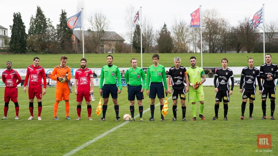 U.N. Käerjeng'97-FC Differdange du 6.12.2015