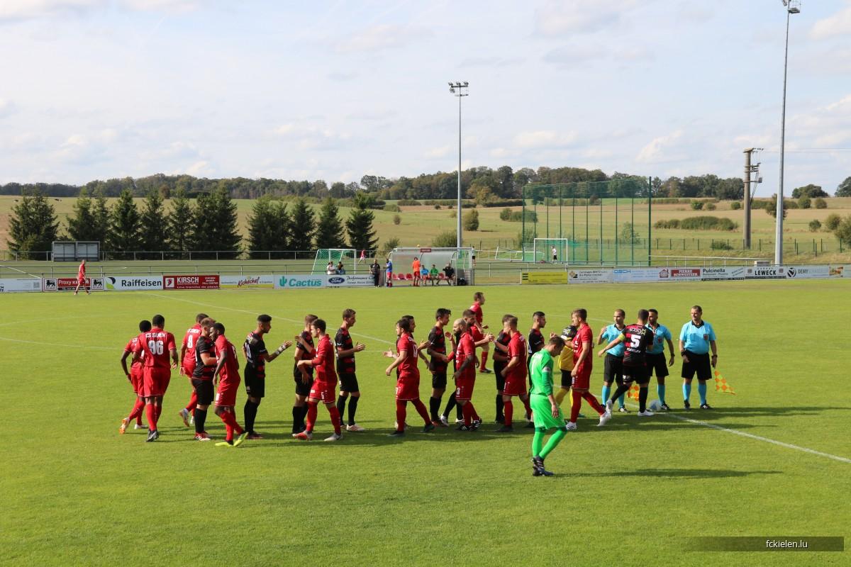 FC Kielen - CS Suessem Coupe  22.9.2019