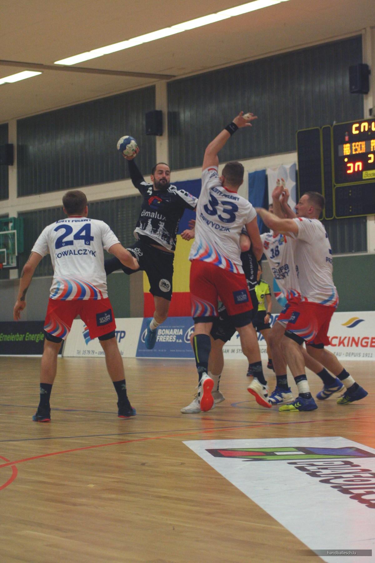 Fotoen Retour 2. Ronn EHF-Cup