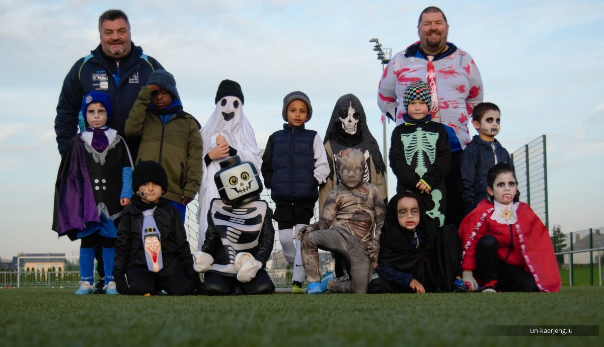 31.10.2019 Halloween Training Session vun den Bambini an Pupillen