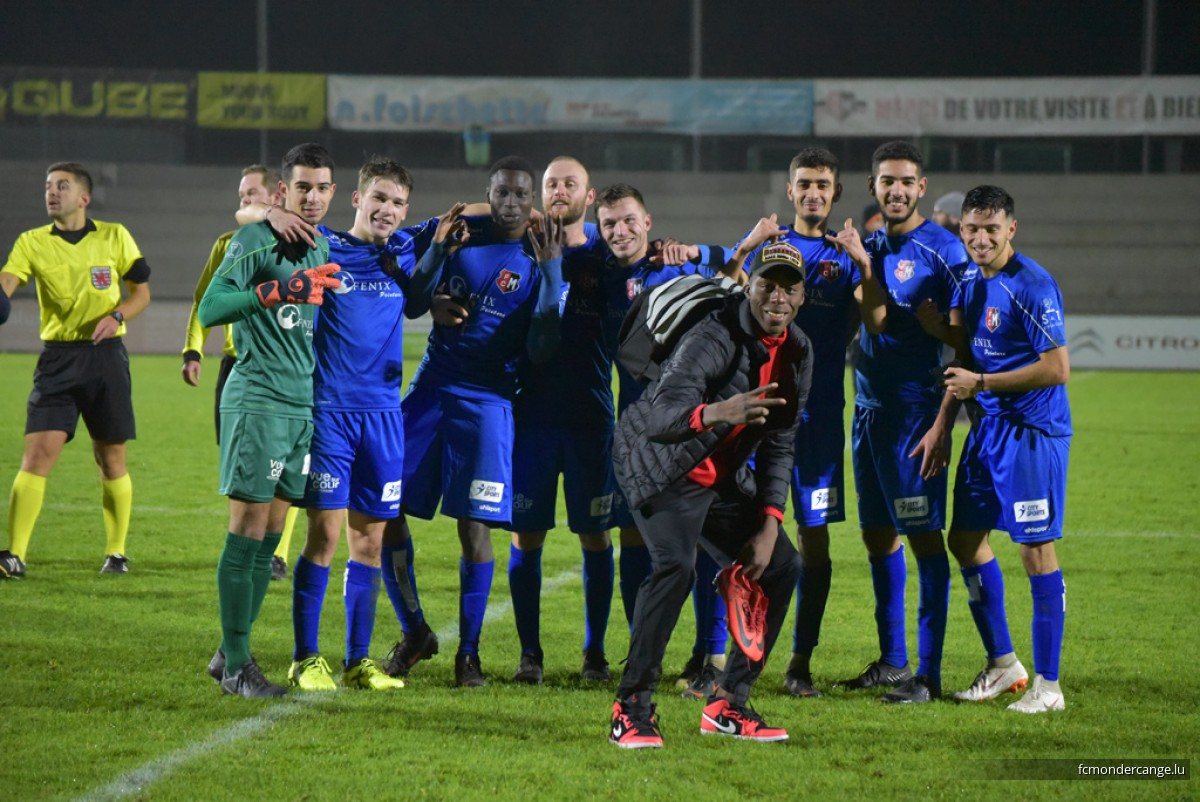 FC Mondercange - Alisontia Steinsel 4:0