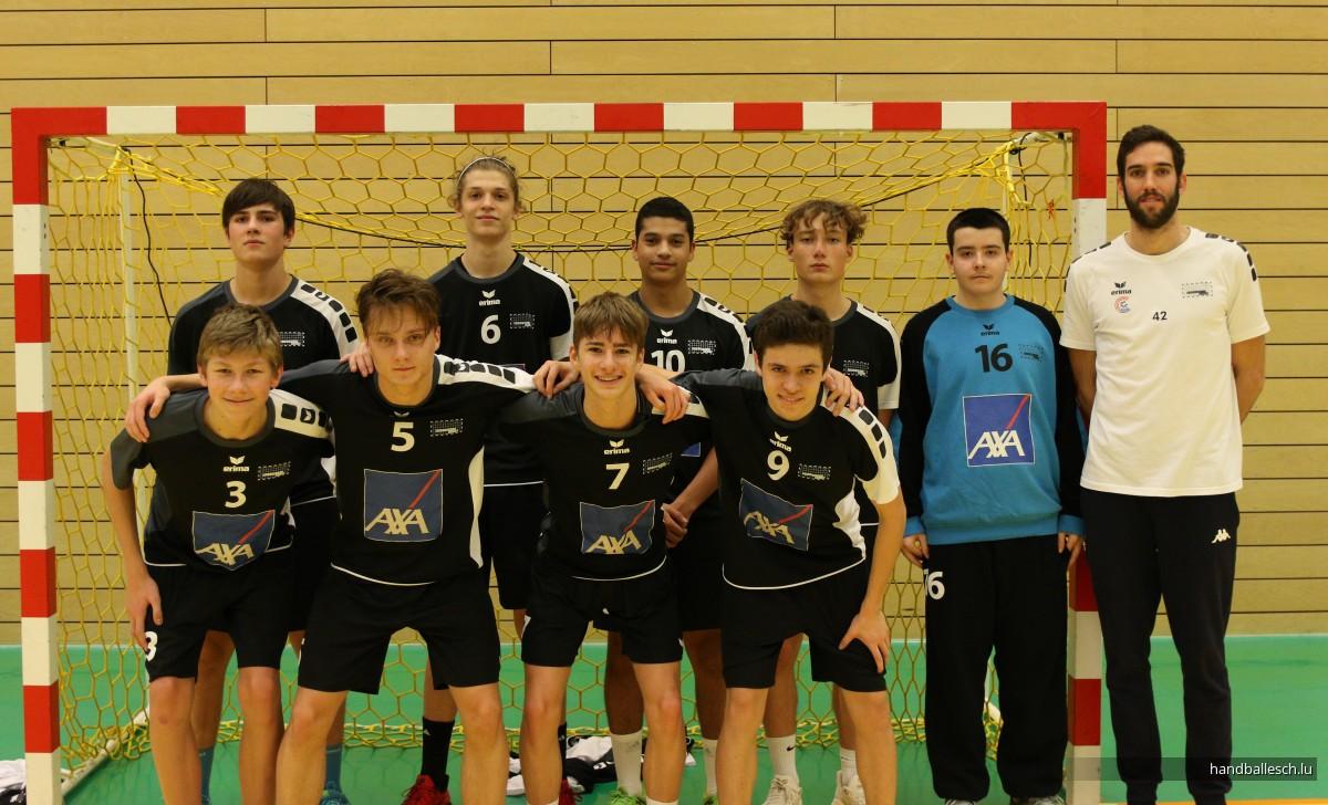Fotoen/17.11.2019/U17: HC Standard 33 - 40 Handball Esch/Schifflange