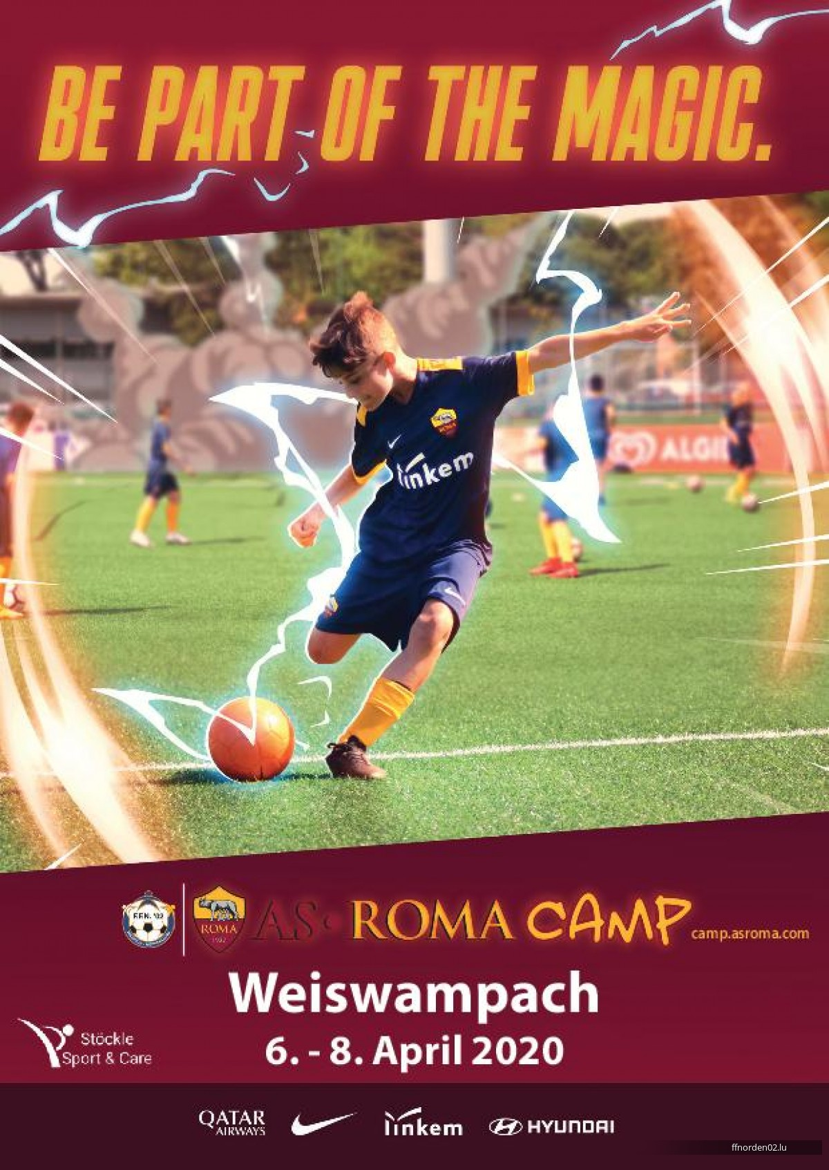 AS Roma Camp 2020 zu Wäiswampich