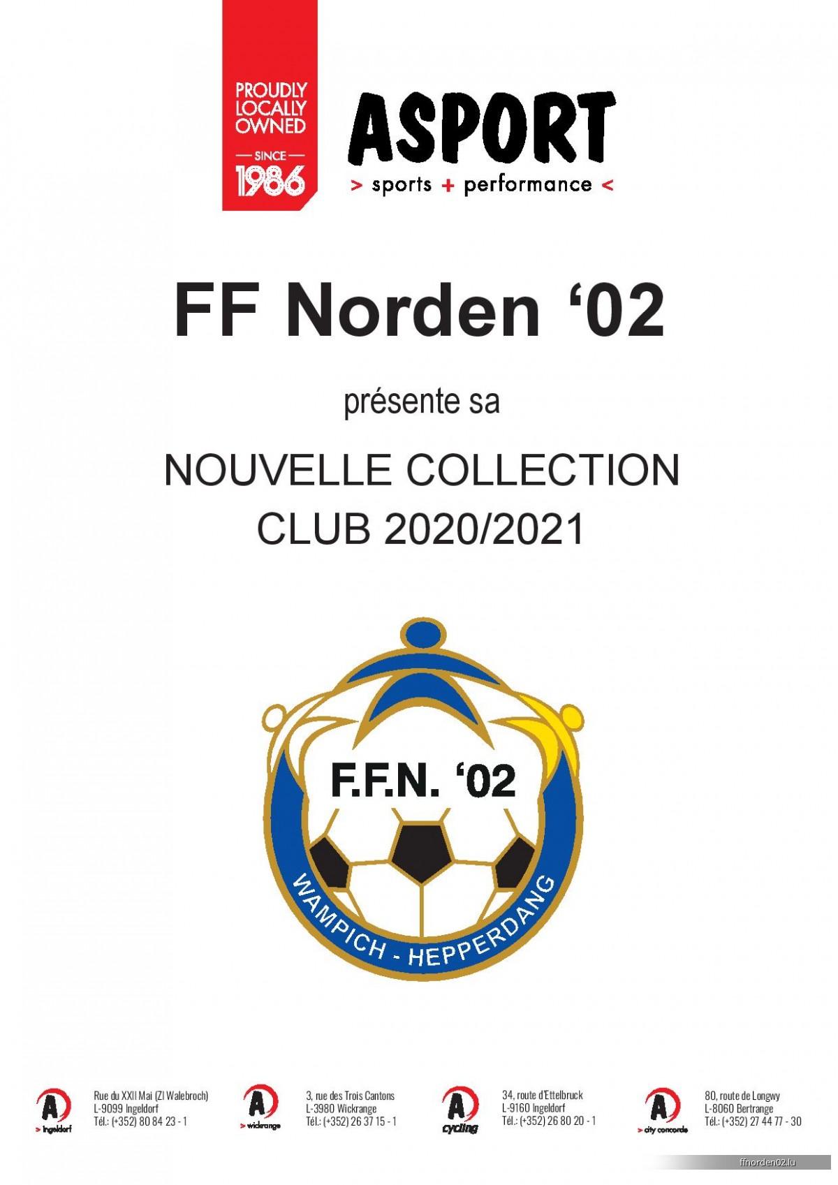 FF Norden 02 Kollektion 2019/2020