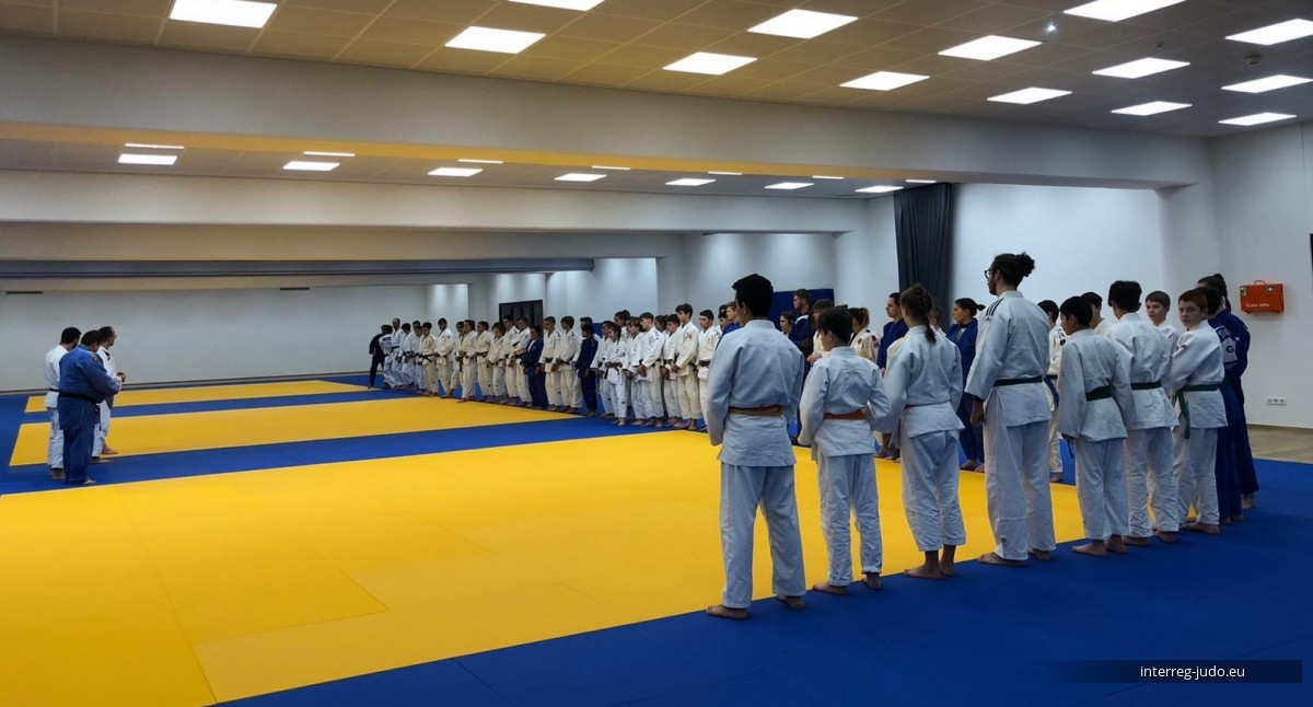 Pictures - Interreg Judo Training Luxembourg 02.12.2019