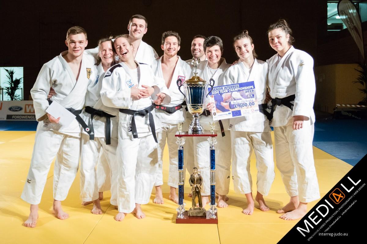 Pictures - Senior Interreg Judo Team Championships 2019
