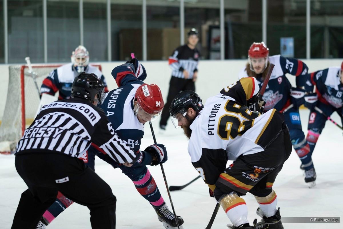 Photos match Elite contre Malines le 14 décembre 2019