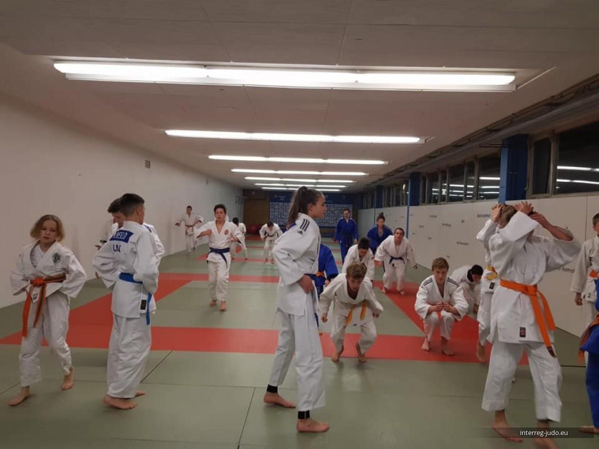 Pictures - Interreg Judo Training Saarbrücken 11.12.2019